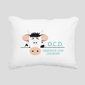 O.C.D. Rectangular Canvas Pillow