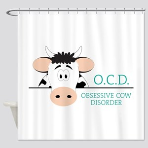 O.C.D. Shower Curtain