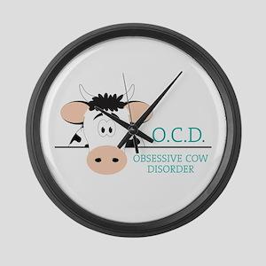 O.C.D. Large Wall Clock
