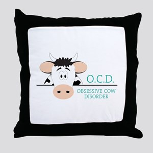 O.C.D. Throw Pillow