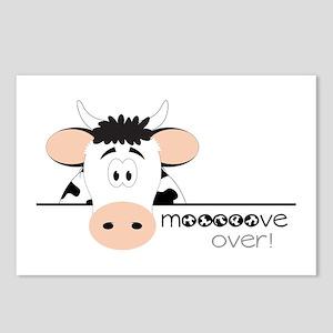 Mooooove Over! Postcards (Package of 8)