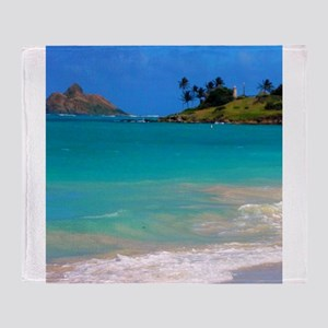 Kailua Beach Throw Blanket