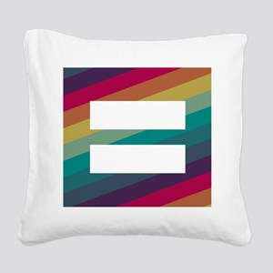 Marriage Equality Square Canvas Pillow