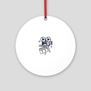 Movie Action Ornament (Round)