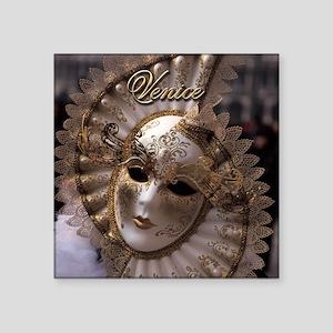 Venetian carnival mask Sticker