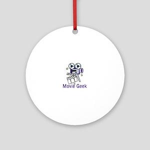 Movie Geek Ornament (Round)