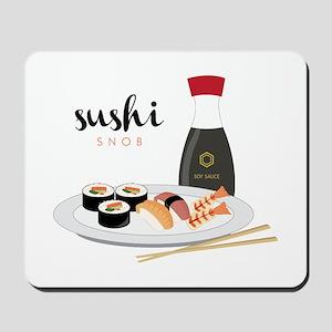 Sushi Snob Mousepad