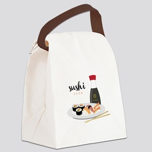 Sushi Snob Canvas Lunch Bag