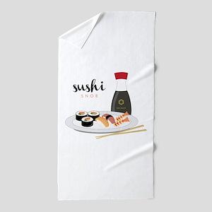 Sushi Snob Beach Towel