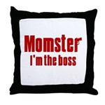 Momster Throw Pillow