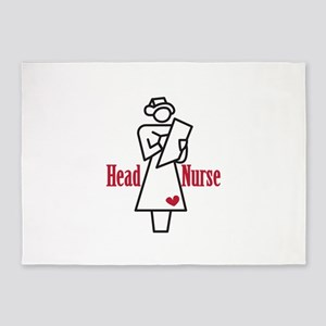 Head Nurse 5'x7'Area Rug