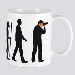 Evolution of man photographer Mugs