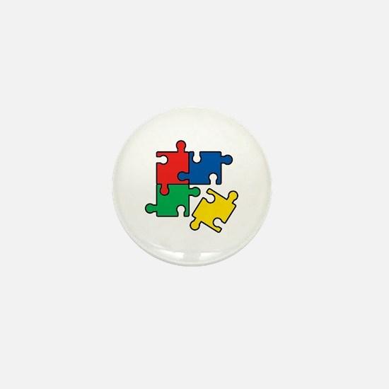 44. Jigsaw Puzzle Mini Button