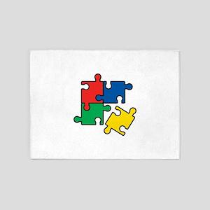 44. Jigsaw Puzzle 5'x7'Area Rug