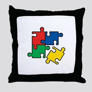 44. Jigsaw Puzzle Throw Pillow