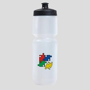44. Jigsaw Puzzle Sports Bottle