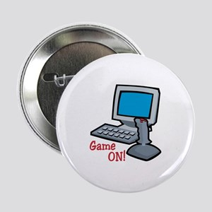 "Game On! 2.25"" Button"