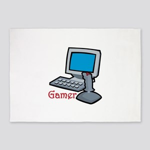 Gamer 5'x7'Area Rug