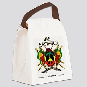 Jah Rastafari Canvas Lunch Bag