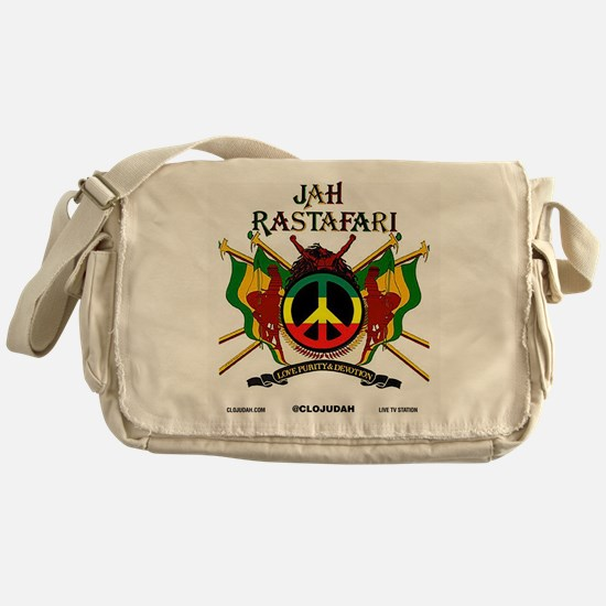 Jah Rastafari Messenger Bag
