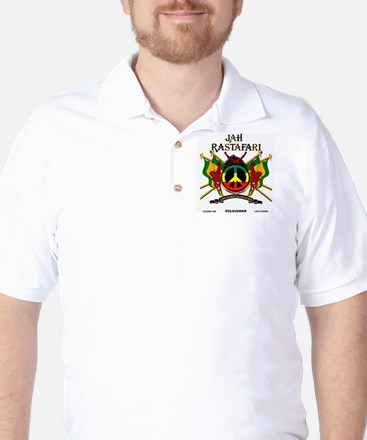 Jah Rastafari Golf Shirt