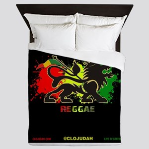 Lion of Judah Reggae Queen Duvet