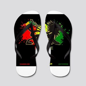 Lion of Judah Reggae Flip Flops