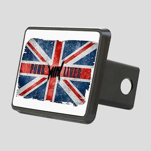 Punk Lives-BRITISH FLAG Hitch Cover