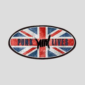 Punk Lives-BRITISH FLAG Patches