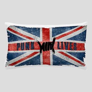 Punk Lives-BRITISH FLAG Pillow Case