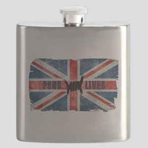 Punk Lives-BRITISH FLAG Flask