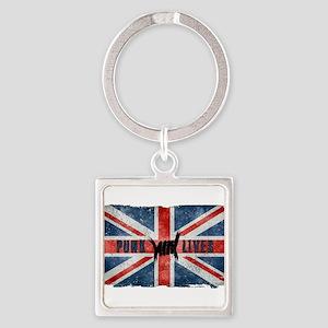 Punk Lives-BRITISH FLAG Keychains