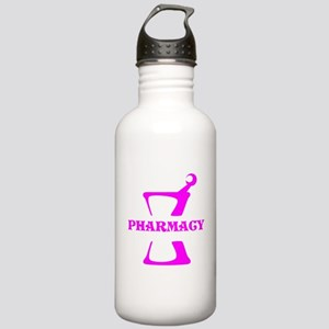 Pink Mortar and Pestle Stainless Water Bottle 1.0L