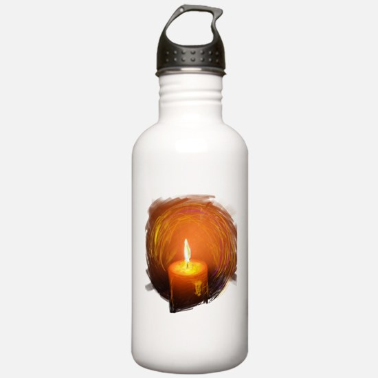 Funny Wishing angels Water Bottle