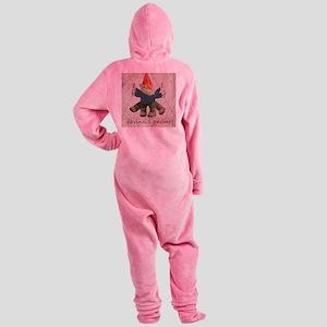 vgnome Footed Pajamas