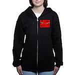 iGodred.jpg Women's Zip Hoodie