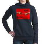 iGodred.jpg Women's Hooded Sweatshirt