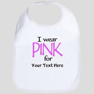 Custom Pink Bib
