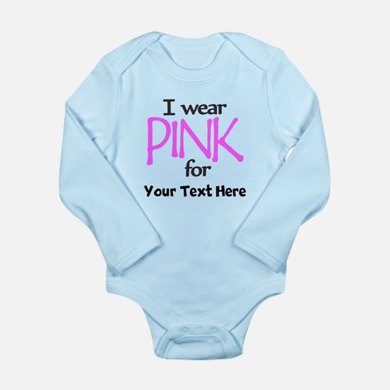 Custom Pink Body Suit