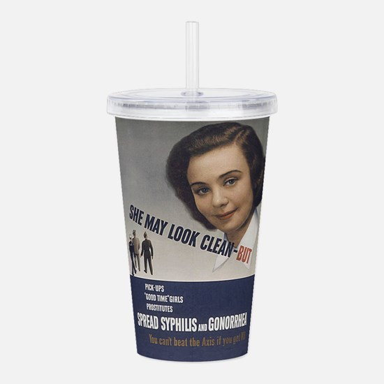 cleangirls.jpg Acrylic Double-wall Tumbler