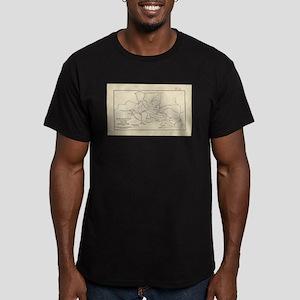 Vintage Mount Monadnock Trail Map (1910) T-Shirt
