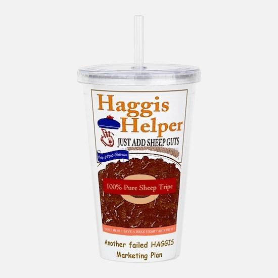 haggis helper.jpg Acrylic Double-wall Tumbler