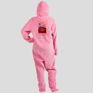 haggis helper Footed Pajamas