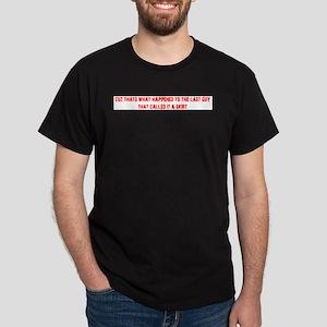 kiltjoke_back_redtx T-Shirt