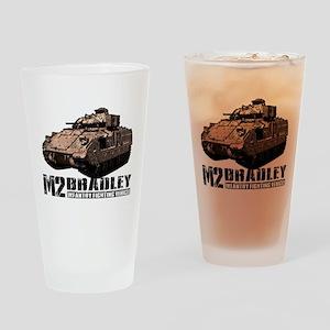 M2 Bradley Drinking Glass