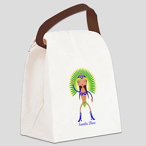 Brazillian Samba Dancer Canvas Lunch Bag