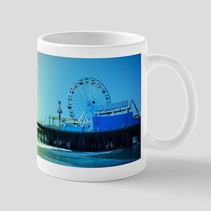 Santa Monica Pier Rainbow Mugs