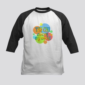 Tai Chi Colors My World Kids Baseball Jersey