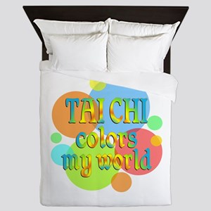 Tai Chi Colors My World Queen Duvet