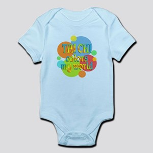 Tai Chi Colors My World Infant Bodysuit
